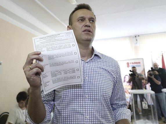 Le principal opposant au Kremlin Alexeï Navalny a voté à Moscou. Il avait appelé à