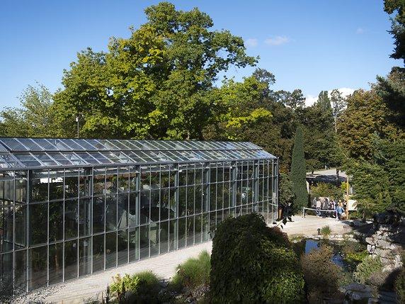 Une nouvelle serre pour le jardin botanique de Lausanne - La ...