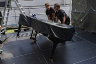 Un piano Steinway au festival Swing in the Wind