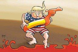 L'été est sanglant au pays de Donald Trump