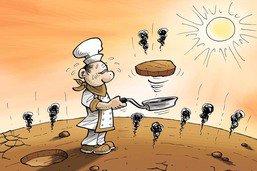 Réchauffement: les produits de la terre viendront à manquer