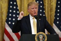"""Un """"sommet"""" Trump contre la """"malhonnêteté"""" des géants de la tech"""