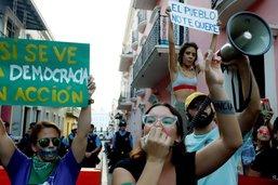 Démission du gouverneur de Porto Rico réclamée dans la rue