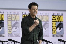 """A San Diego, Tom Cruise présente la bande-annonce de """"Top Gun"""""""