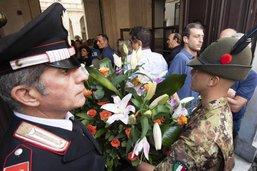 Carabinier tué en Italie: ombres et malaise