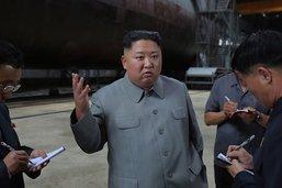 """Kim qualifie les tirs nord-coréens d'""""avertissement"""" à Washington"""