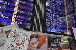 Le trafic redémarre à l'aéroport de Hong Kong