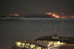 """""""Drame environnemental"""" à la Grande Canarie, ravagée par un feu"""