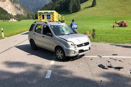 Un motard et sa passagère grièvement blessés près de Charmey