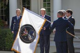 Trump lance un commandement militaire américain de l'espace