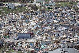 L'ouragan Dorian déferle sur la côte est des Etats-Unis