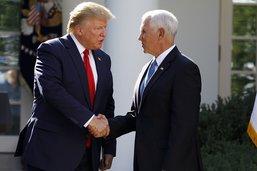 Trump assure n'avoir jamais poussé Pence à dormir dans son hôtel
