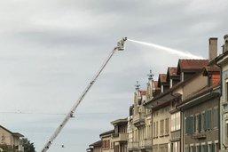 Incendie mortel à Romont