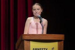 "L'activiste Greta Thunberg ""ambassadrice de conscience"" d'Amnesty"