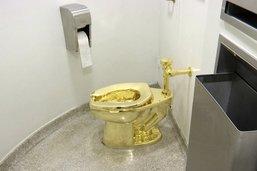 Une deuxième arrestation dans l'affaire du WC en or volé