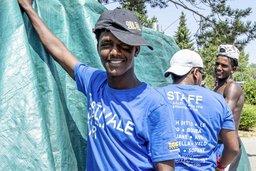 Des migrants engagés pour l'Estivale