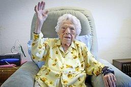 Hélène Rotzetter a fêté ses cent ans