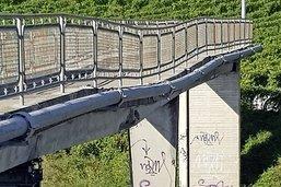 Pont fragilisé: fermeture de l'A9