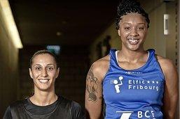 Ines Viana et Courtney Range sont arrivées à Fribourg