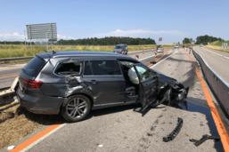 Accident dans les travaux sur l'A12