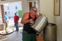La distillerie de Saint-Aubin reprend du service