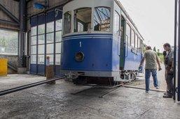 Le tram n°1 de Fribourg déménage