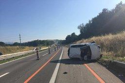 Deux blessés dans un accident à Guin