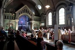 La chapelle de l'Albertinum se dévoile