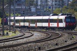 Trafic ferroviaire perturbé entre Palézieux et Lausanne