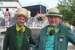 Deux vignerons du Domaine des Faverges primés