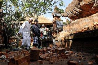 Un séisme secoue les îles de Bali, Lombok et Java