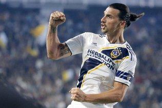 Le Los Angeles Galaxy grâce à un triplé d'Ibrahimovic