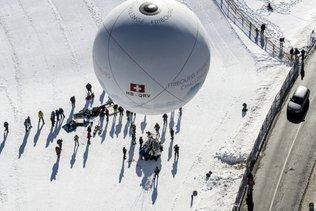 Ballons à gaz: doublé suisse à la 63e coupe Gordon Bennett en France