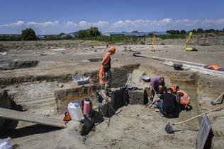Des vestiges insolites découverts vers Saint-Aubin