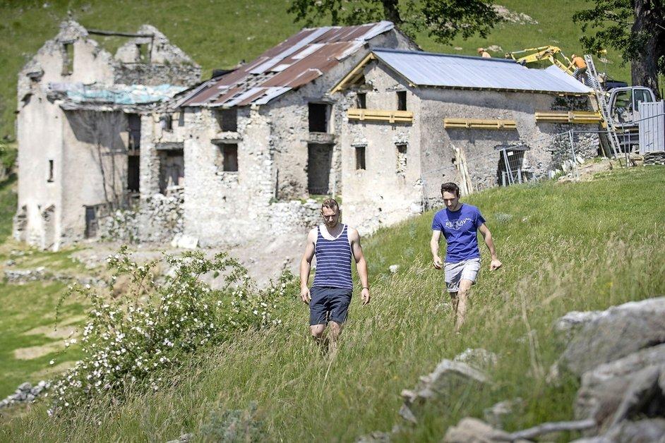 Ruine de valeur découverte au Tessin
