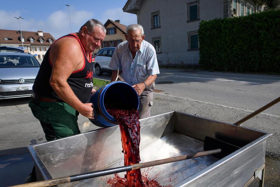 100e anniversaire de la distillerie de Saint-Aubin