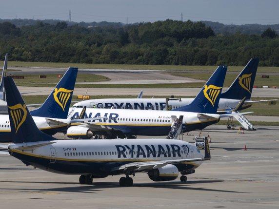 Ryanair souffre de la concurrence en Europe
