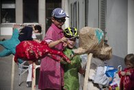 Une action de prévention sympa pour un meilleur partage de la rue