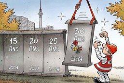 Mur de Berlin: encore une commémoration