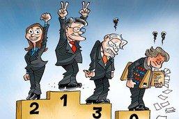 Elections aux Etats: le podium