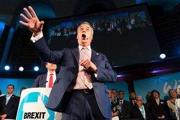"""A Londres, le Brexit Party fustige les députés """"mauviettes"""""""