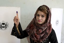 Une présidentielle afghane avec une abstention record
