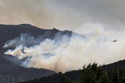 Incendies en Californie: 2 morts, 100'000 évacuations préventives