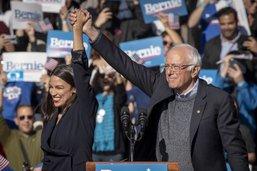 Présidentielle américaine: Ocasio-Cortez à la rescousse de Sanders