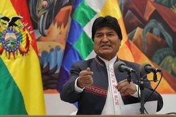 Le président bolivien réélu, la mobilisation se poursuit