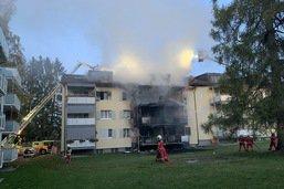 Un incendie à Uster (ZH) coûte la vie à une personne