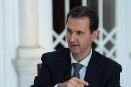 """La Turquie ne doit pas être un """"ennemi"""", dit le président syrien"""