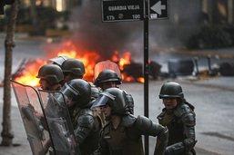 Les manifs au Chili s'étendent aux quartiers aisés