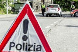 Un motocycliste de 43 ans gravement blessé au Tessin