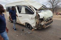 Collision avec une girafe en Afrique du Sud, 4 blessés